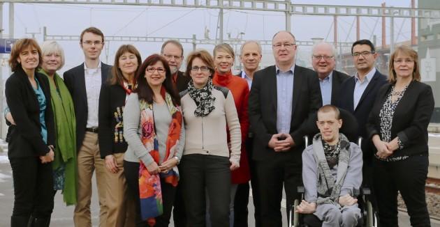 Candidat-e-s du PS Ouest lausannois au Grand Conseil pour la législature 2017-2022